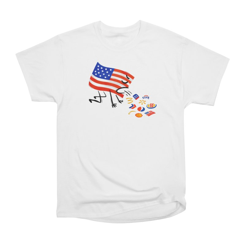 American Sickness Men's Heavyweight T-Shirt by Made With Awesome