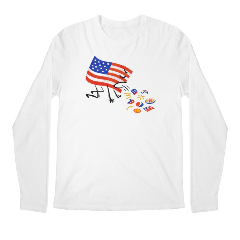 American Sickness Men's Regular Longsleeve T-Shirt by Made With Awesome