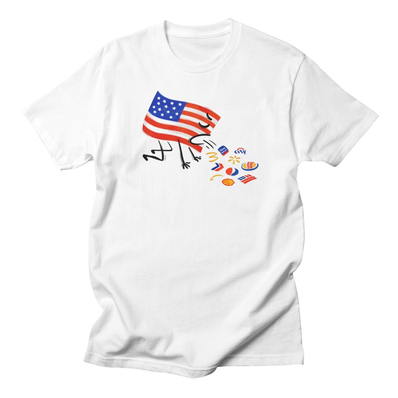 American Sickness Men's Regular T-Shirt by Made With Awesome