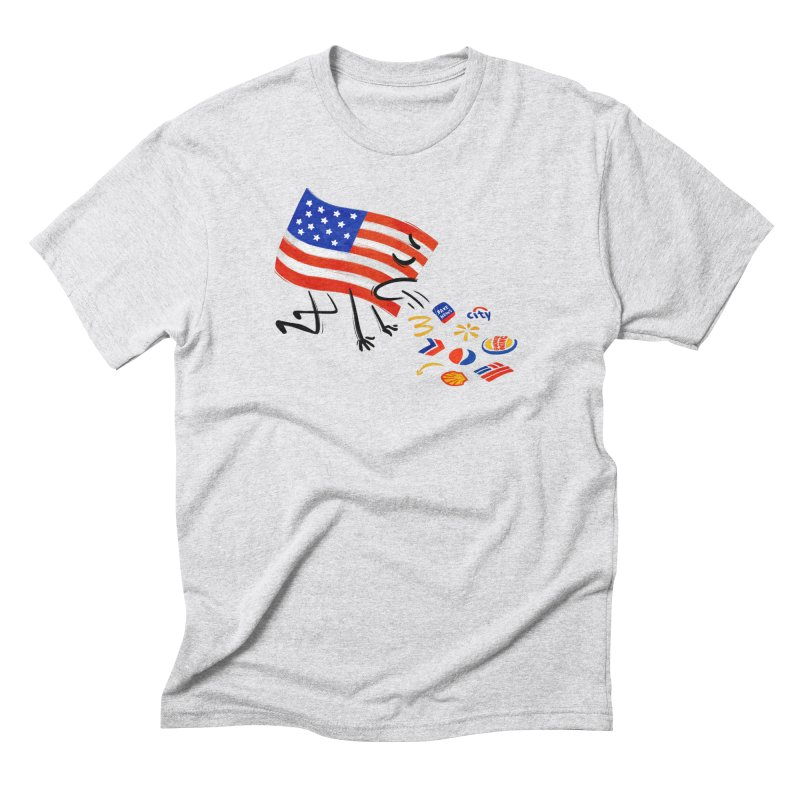 American Sickness Men's Triblend T-Shirt by Made With Awesome