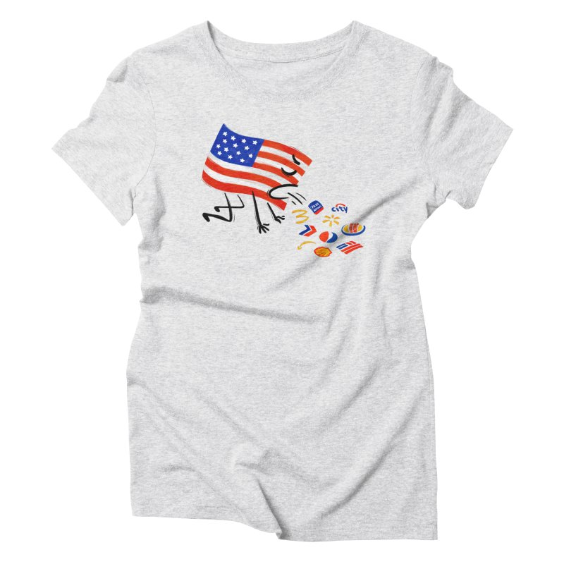 American Sickness Women's Triblend T-Shirt by Made With Awesome