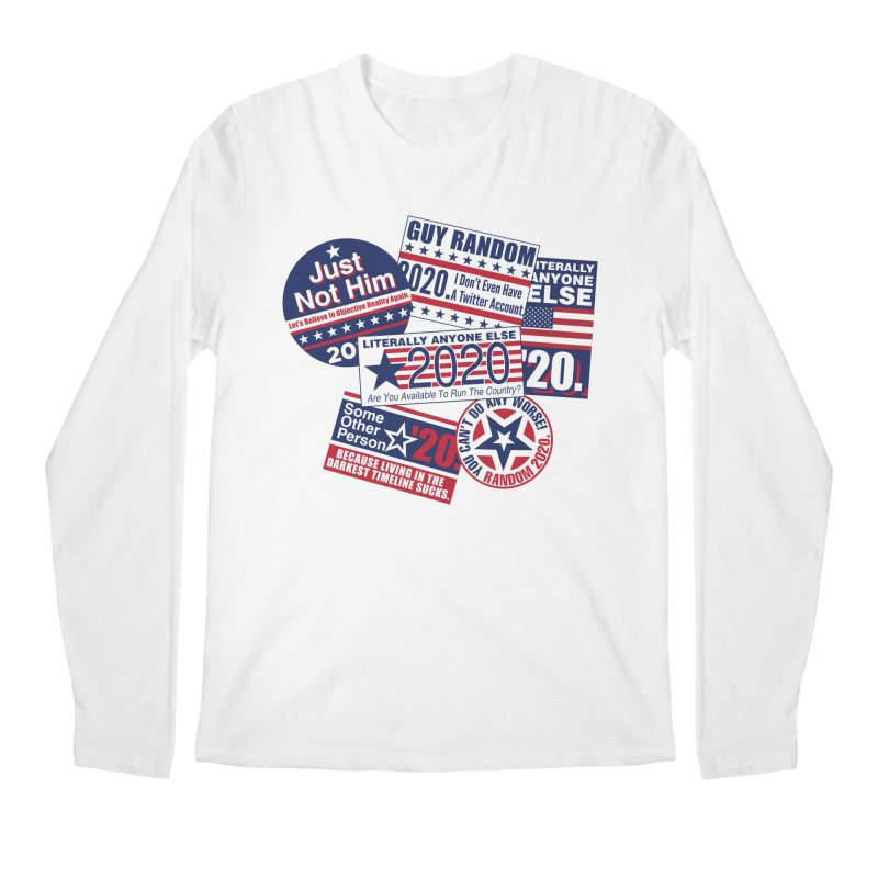 Just Not Him Men's Regular Longsleeve T-Shirt by Made With Awesome