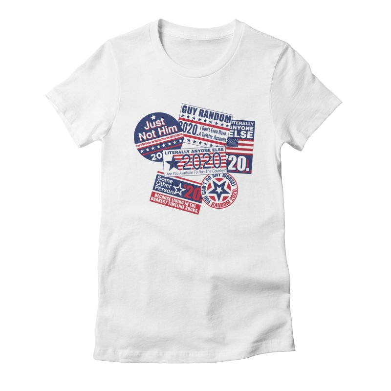Just Not Him Women's Fitted T-Shirt by Made With Awesome