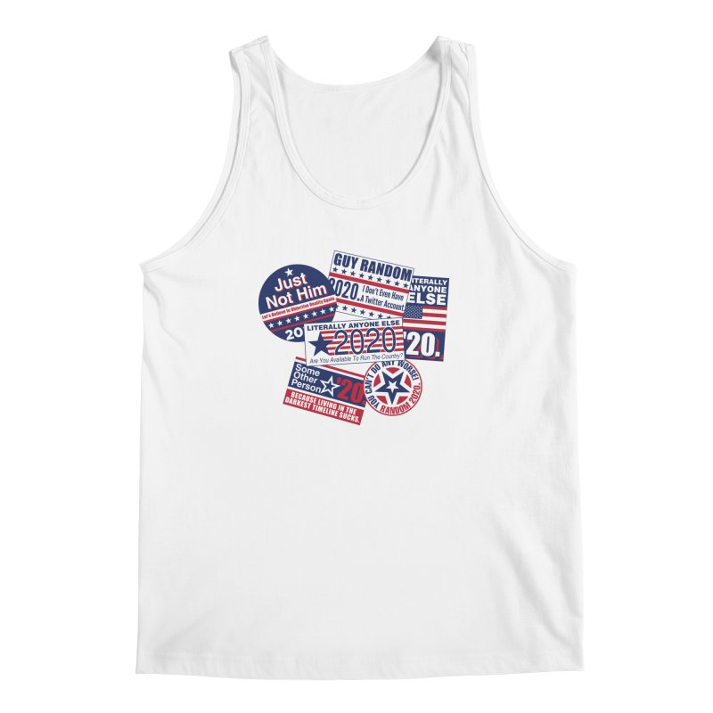Just Not Him Men's Regular Tank by Made With Awesome