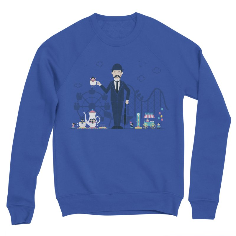 Tea Time at the Faire Women's Sponge Fleece Sweatshirt by Made With Awesome