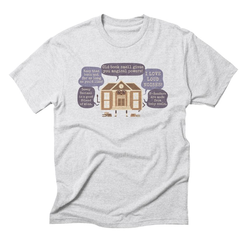 Lie-brary Men's Triblend T-Shirt by Made With Awesome
