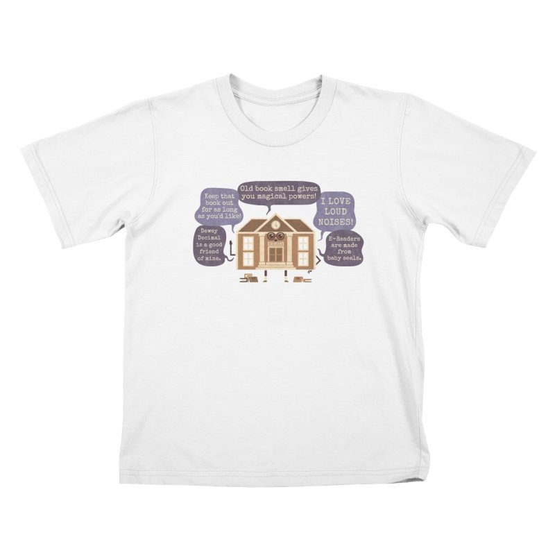 Lie-brary Kids Toddler T-Shirt by Made With Awesome