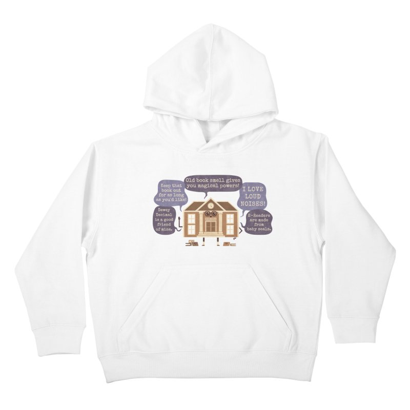 Lie-brary Kids Pullover Hoody by Made With Awesome