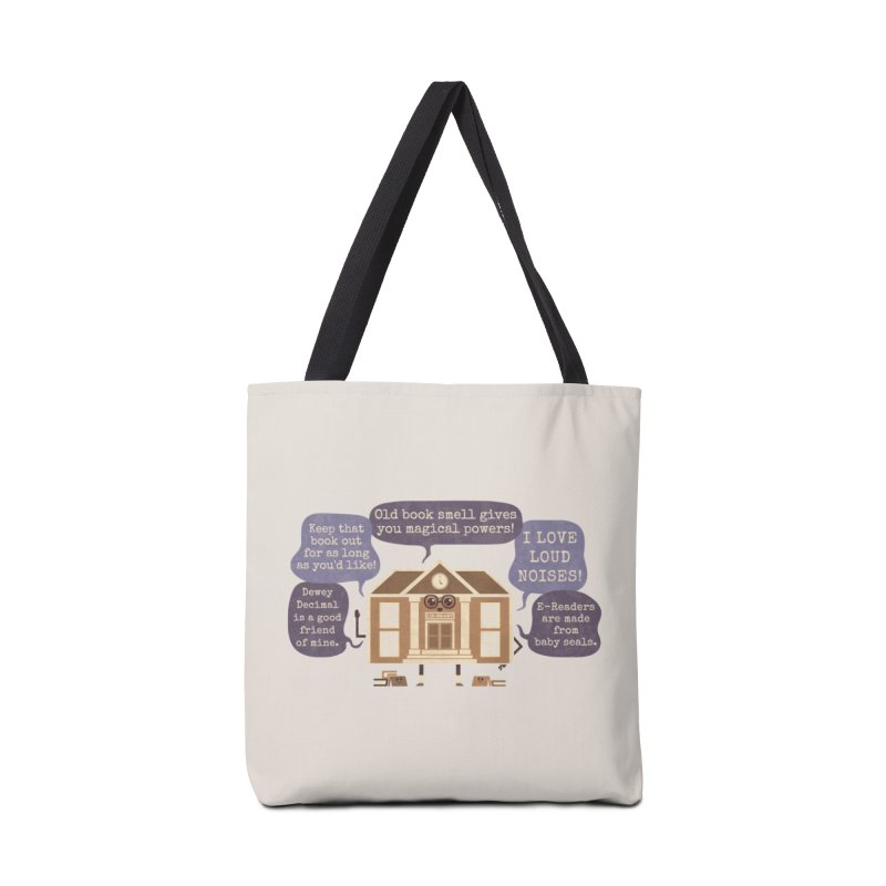 Lie-brary Accessories Bag by Made With Awesome