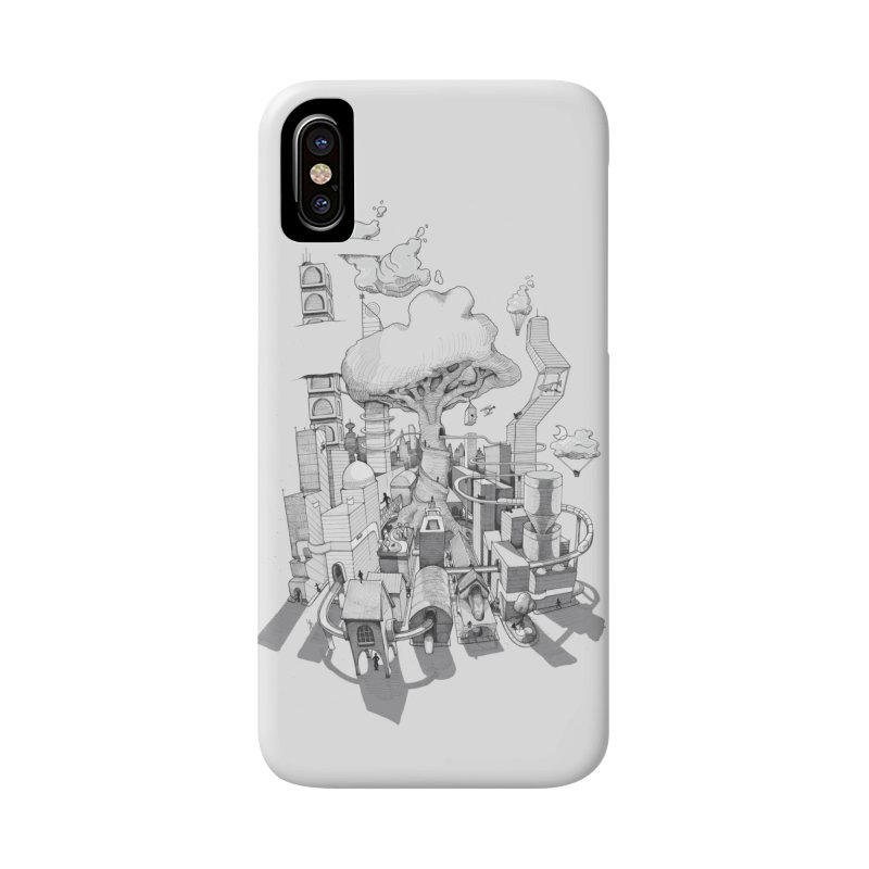 Impossible City Accessories Phone Case by Made With Awesome