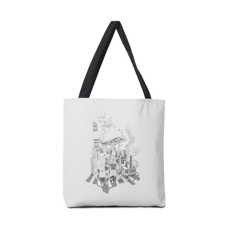 Impossible City Accessories Bag by Made With Awesome