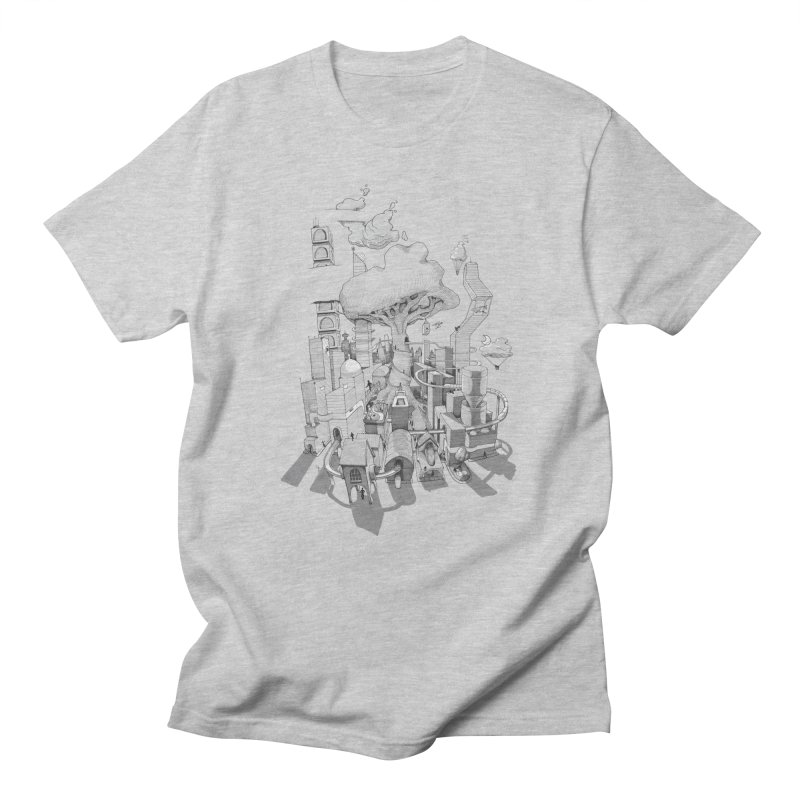 Impossible City Women's Regular Unisex T-Shirt by Made With Awesome