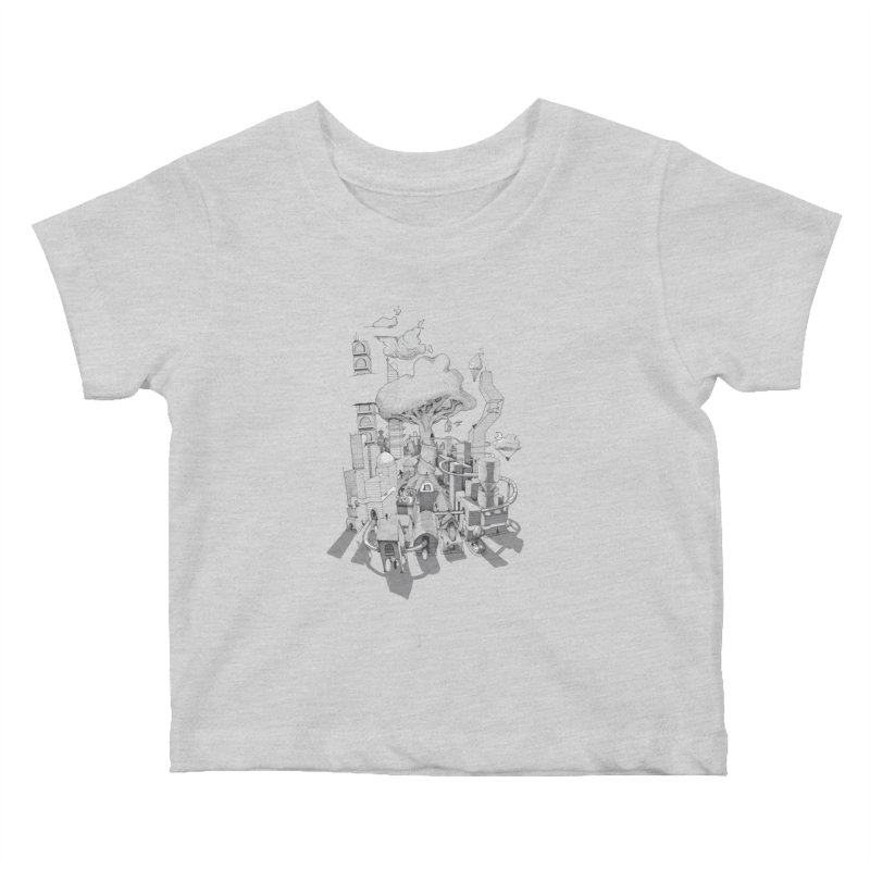Impossible City Kids Baby T-Shirt by Made With Awesome