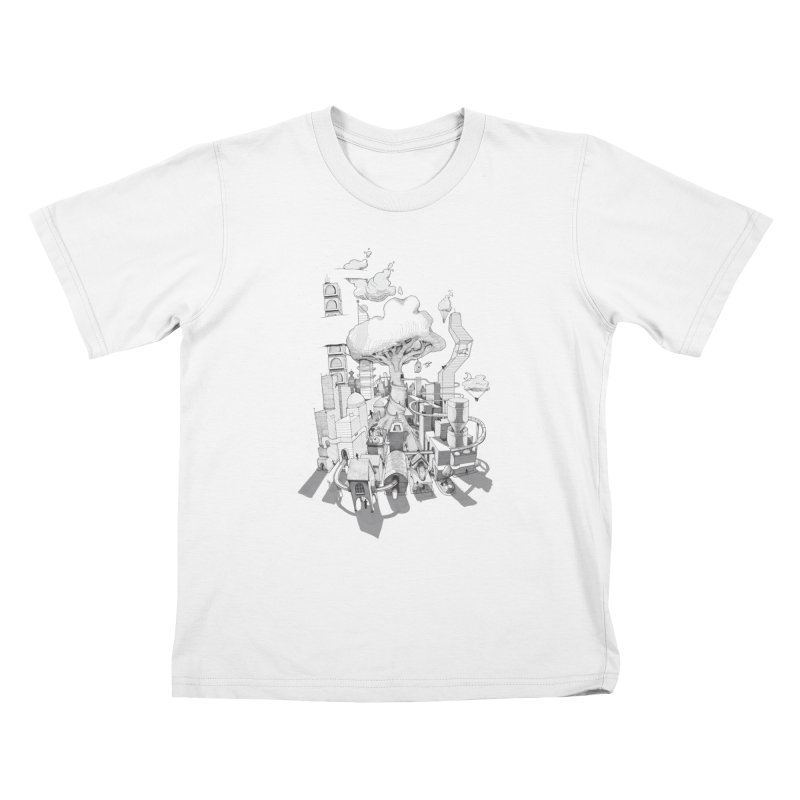 Impossible City Kids Toddler T-Shirt by Made With Awesome