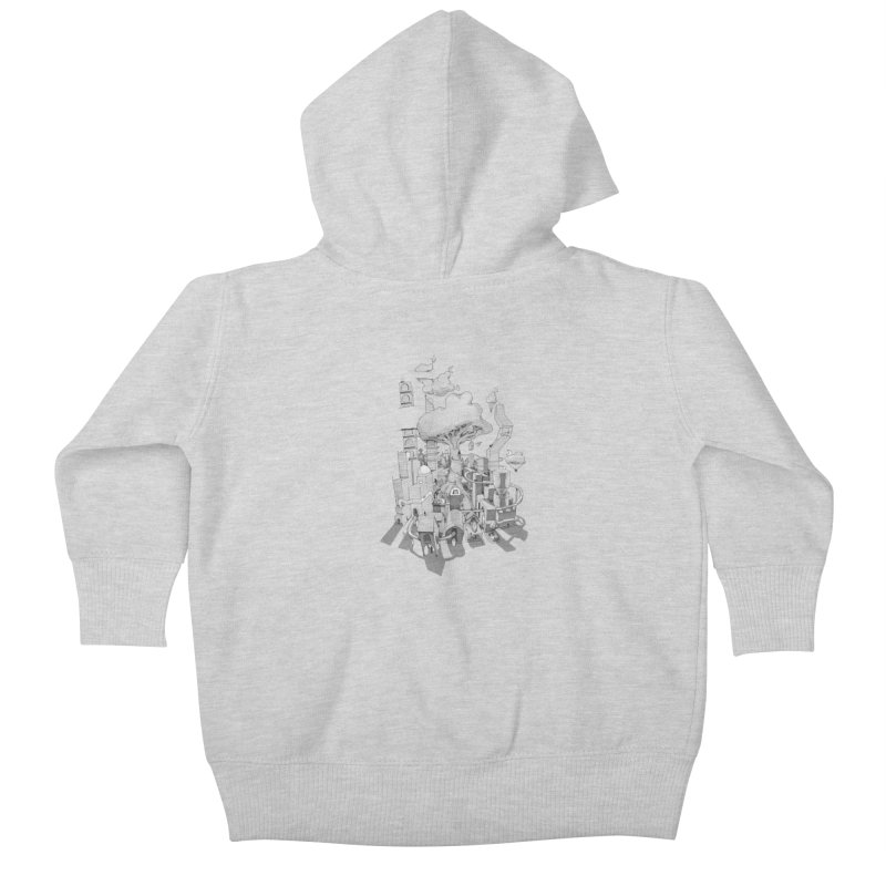Impossible City Kids Baby Zip-Up Hoody by Made With Awesome