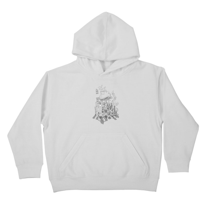 Impossible City Kids Pullover Hoody by Made With Awesome