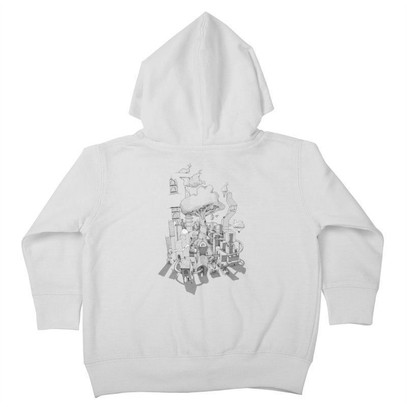 Impossible City Kids Toddler Zip-Up Hoody by Made With Awesome