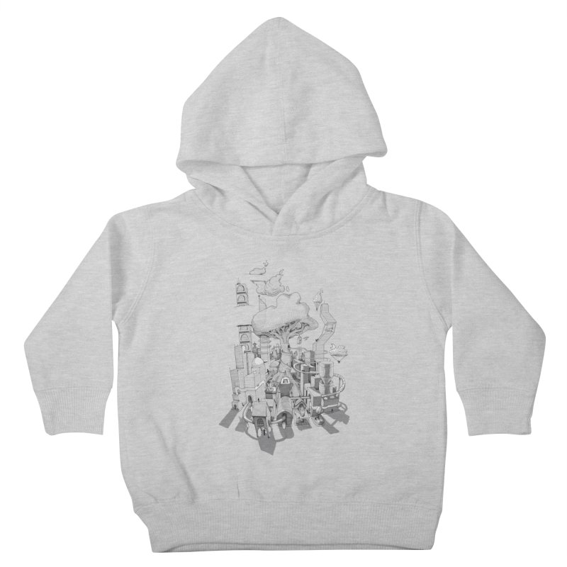 Impossible City Kids Toddler Pullover Hoody by Made With Awesome