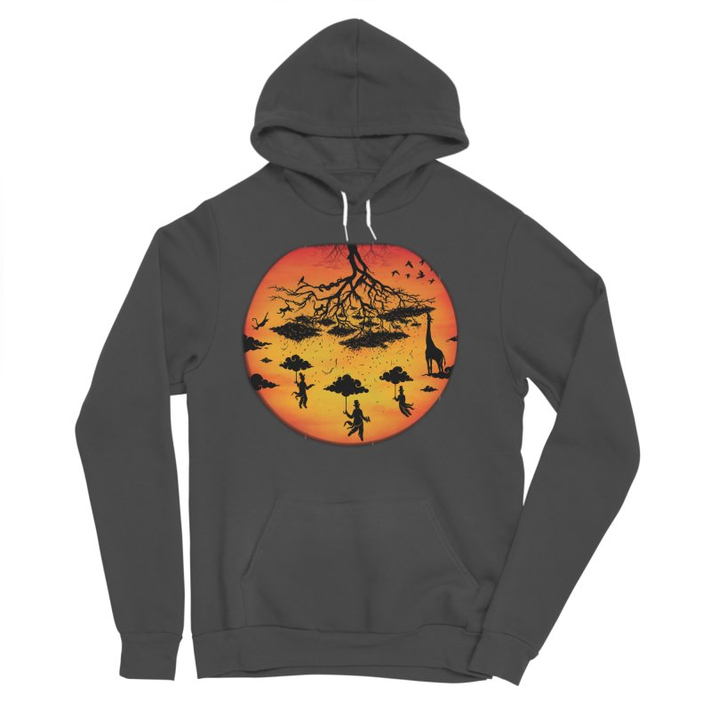 Sees The Day Women's Sponge Fleece Pullover Hoody by Made With Awesome