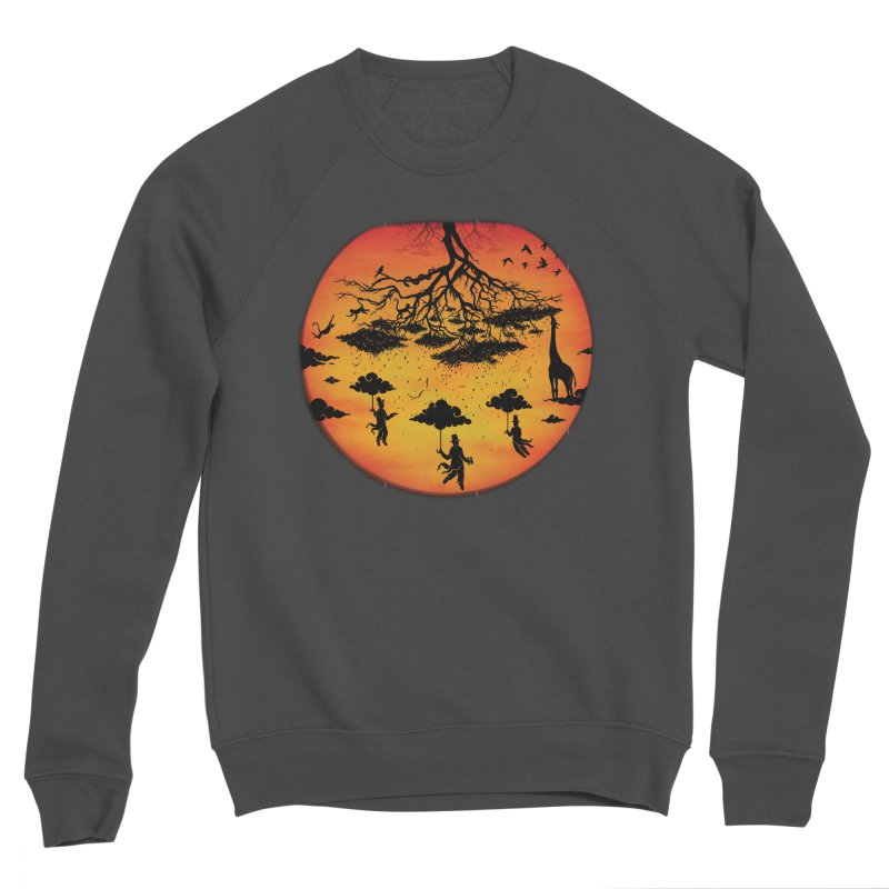 Sees The Day Women's Sponge Fleece Sweatshirt by Made With Awesome