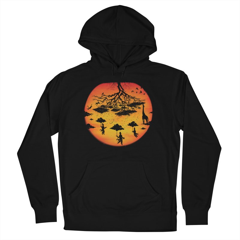 Sees The Day Men's French Terry Pullover Hoody by Made With Awesome