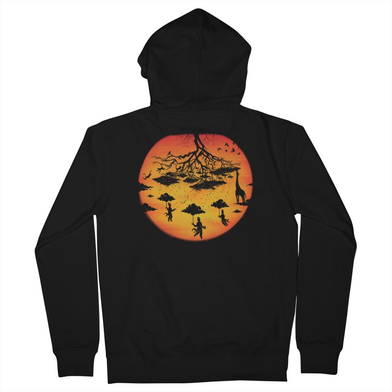 Sees The Day Women's French Terry Zip-Up Hoody by Made With Awesome