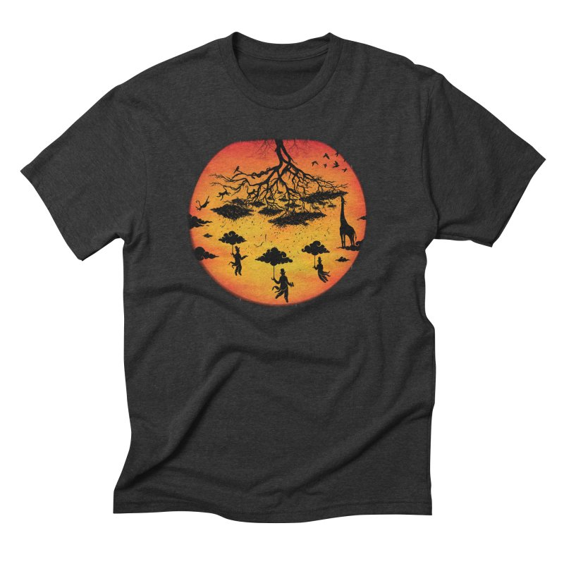 Sees The Day Men's Triblend T-Shirt by Made With Awesome