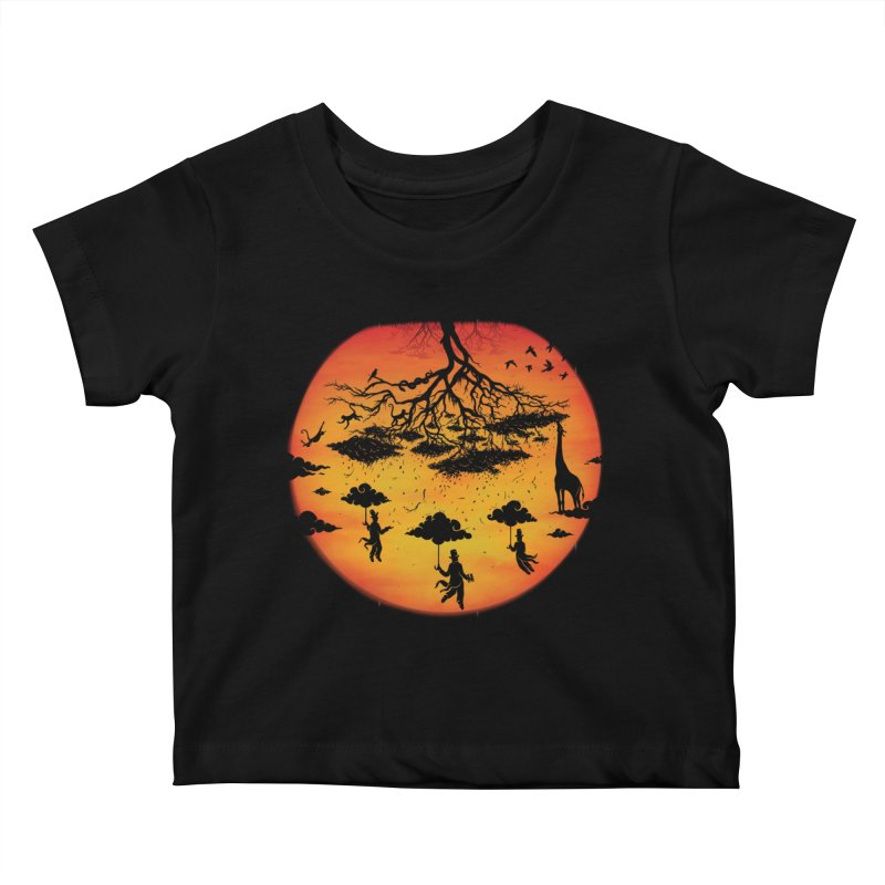 Sees The Day Kids Baby T-Shirt by Made With Awesome