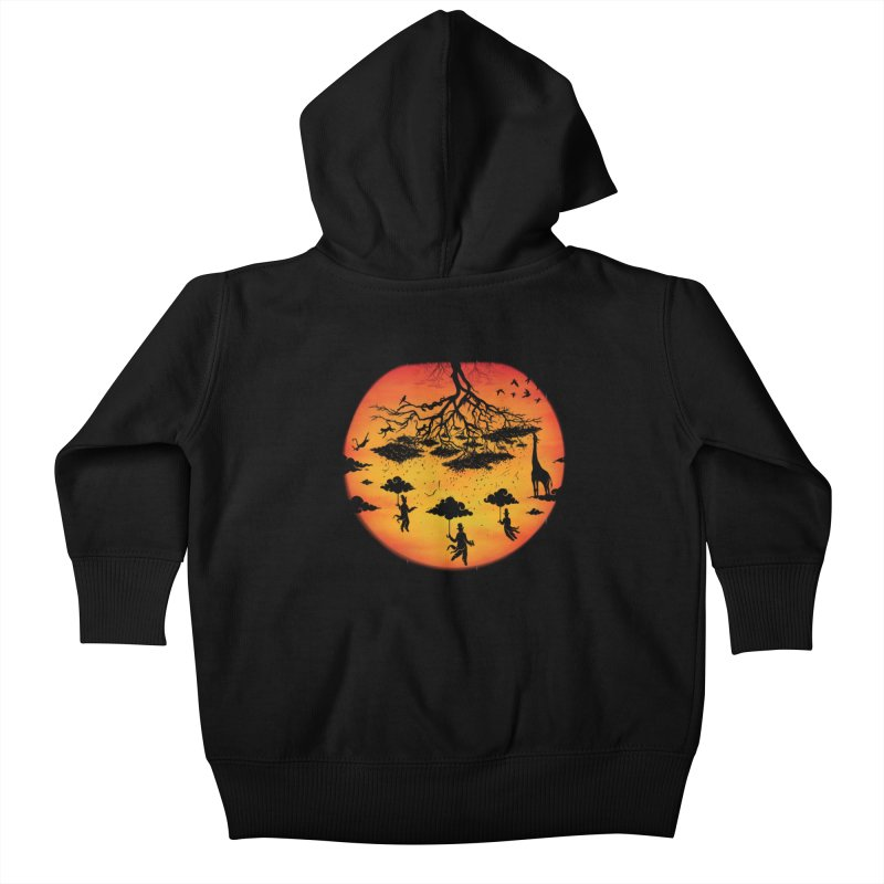 Sees The Day Kids Baby Zip-Up Hoody by Made With Awesome