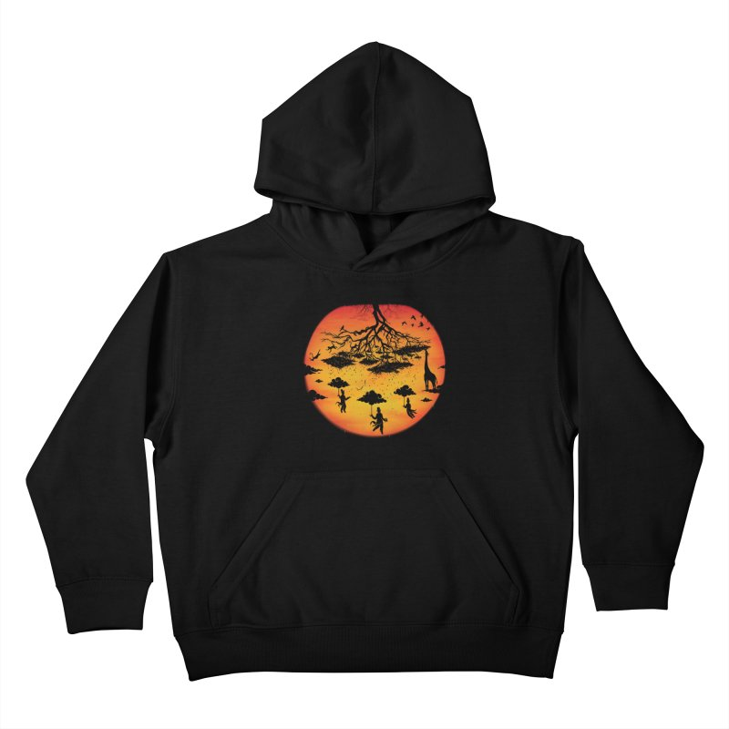 Sees The Day Kids Pullover Hoody by Made With Awesome