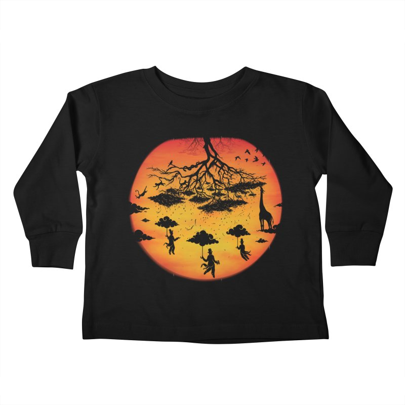 Sees The Day Kids Toddler Longsleeve T-Shirt by Made With Awesome
