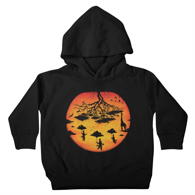 Sees The Day Kids Toddler Pullover Hoody by Made With Awesome