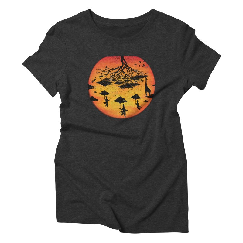 Sees The Day Women's Triblend T-Shirt by Made With Awesome