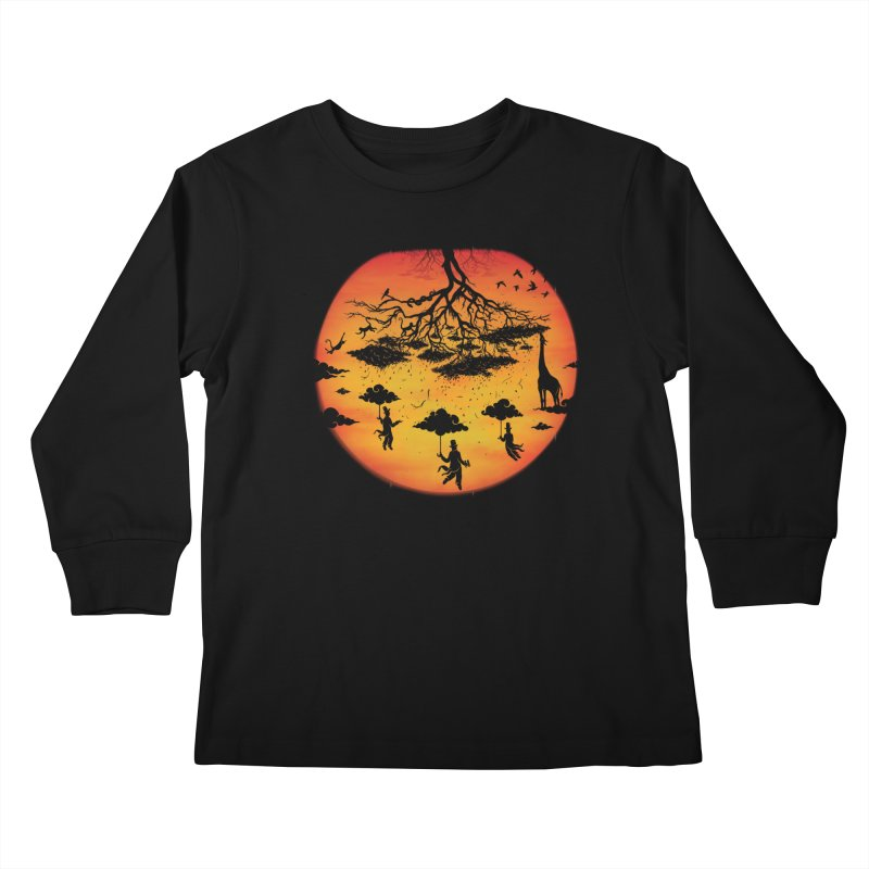 Sees The Day Kids Longsleeve T-Shirt by Made With Awesome