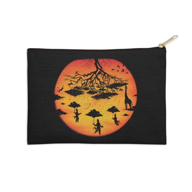 Sees The Day Accessories Zip Pouch by Made With Awesome