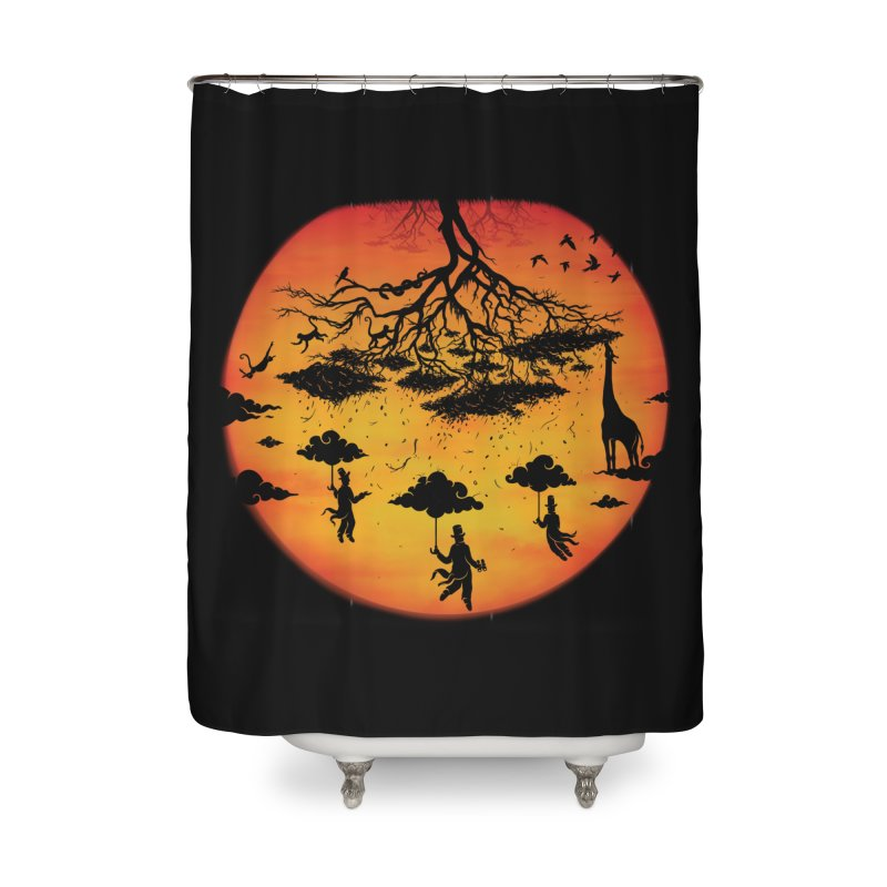 Sees The Day Home Shower Curtain by Made With Awesome
