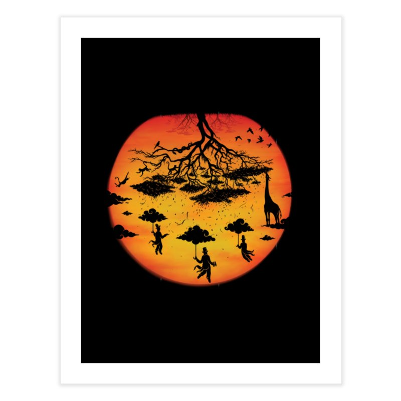 Sees The Day Home Fine Art Print by Made With Awesome