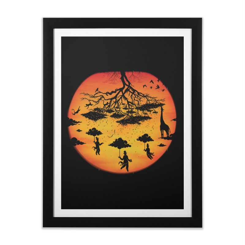 Sees The Day Home Framed Fine Art Print by Made With Awesome