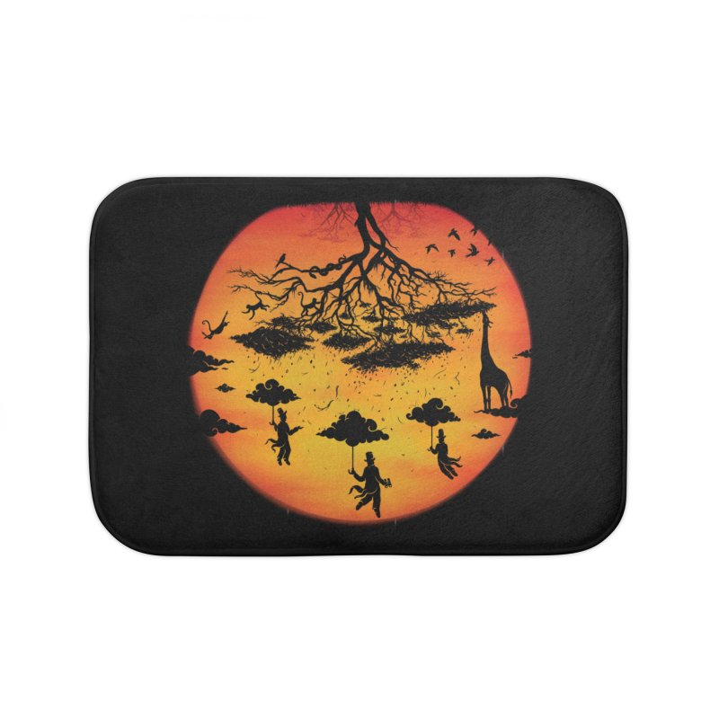 Sees The Day Home Bath Mat by Made With Awesome