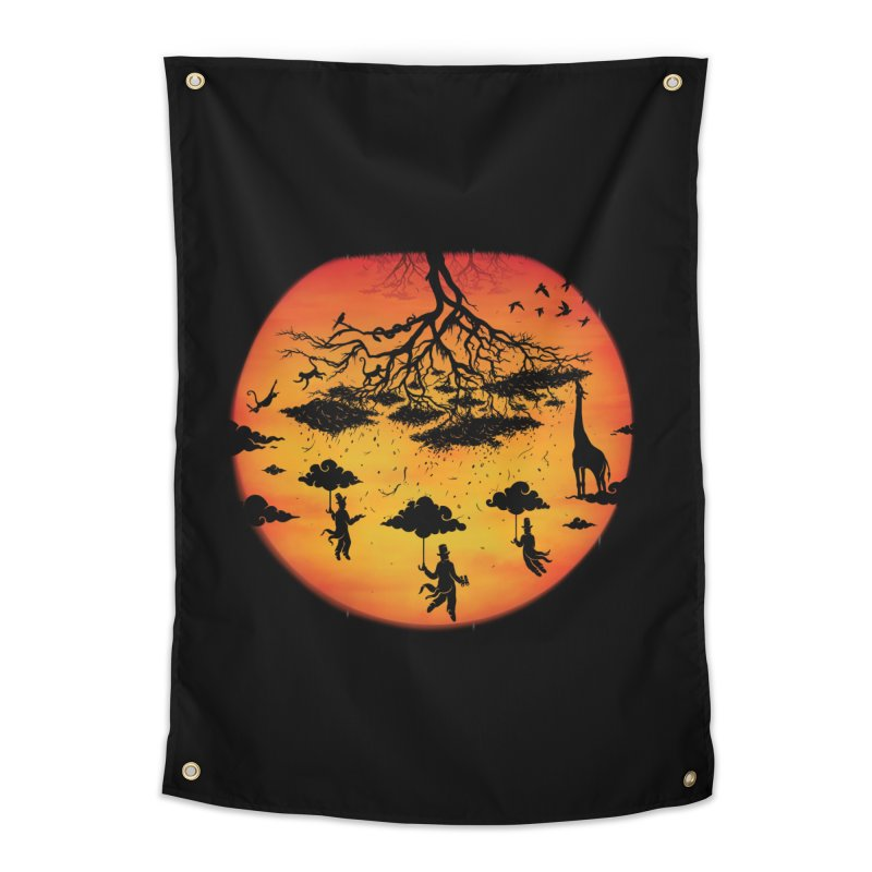 Sees The Day Home Tapestry by Made With Awesome