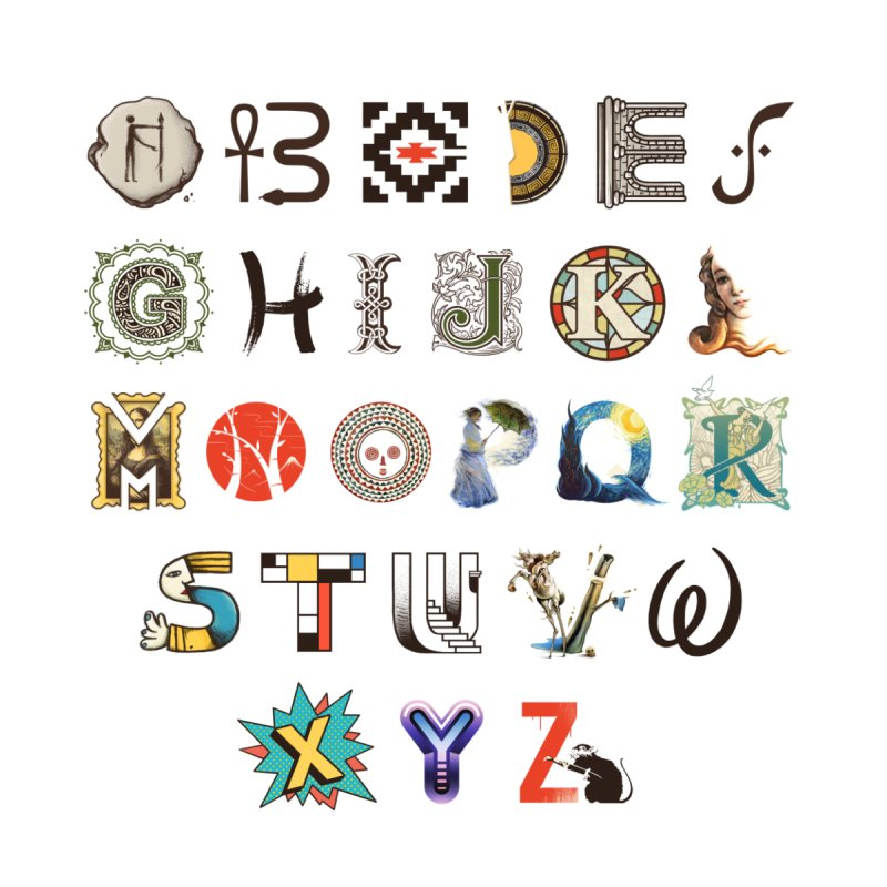 A-Z Art History by Made With Awesome