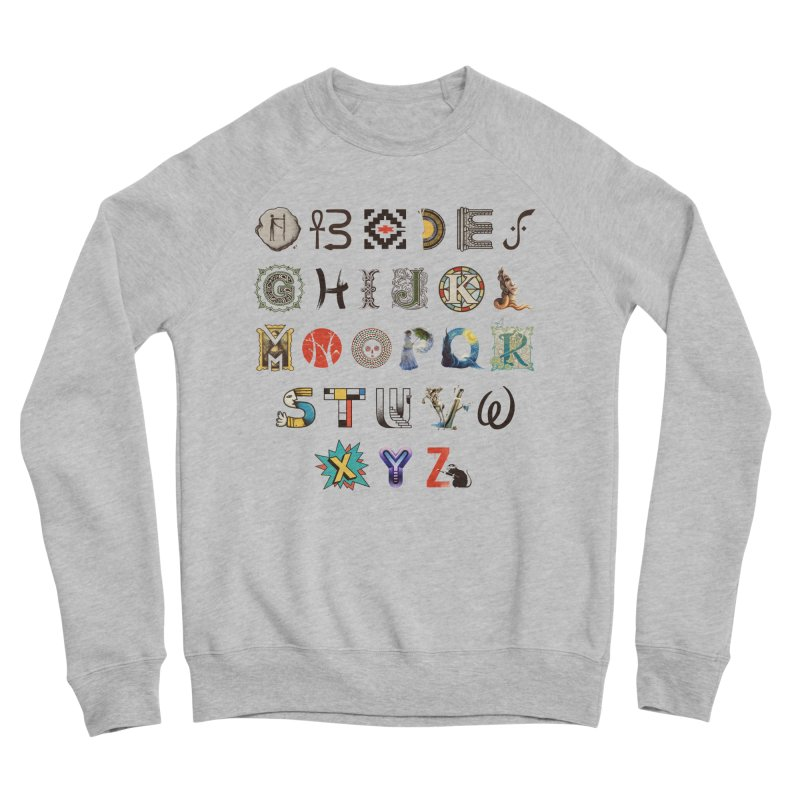 A-Z Art History Women's Sponge Fleece Sweatshirt by Made With Awesome