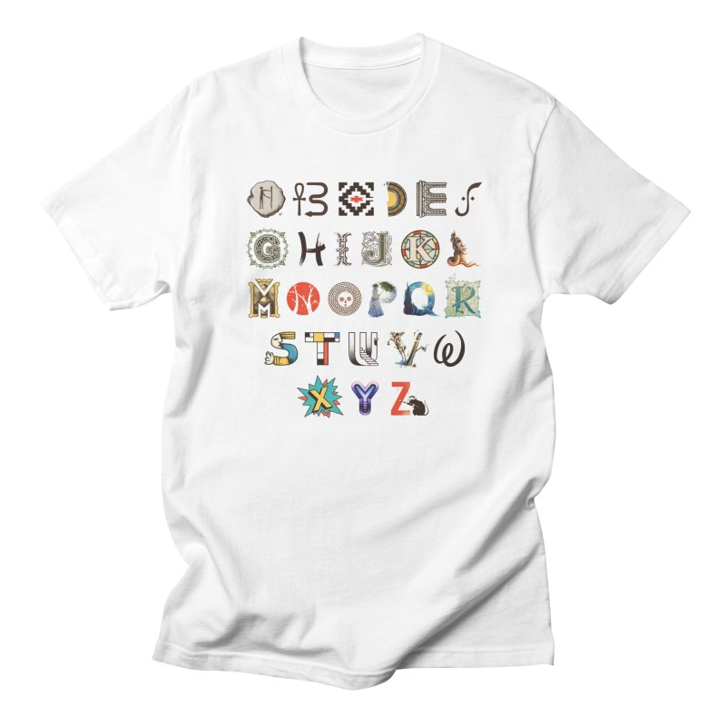 A-Z Art History Women's Regular Unisex T-Shirt by Made With Awesome