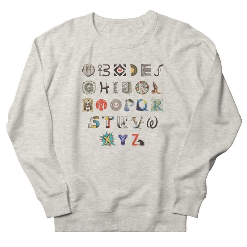 A-Z Art History Men's French Terry Sweatshirt by Made With Awesome