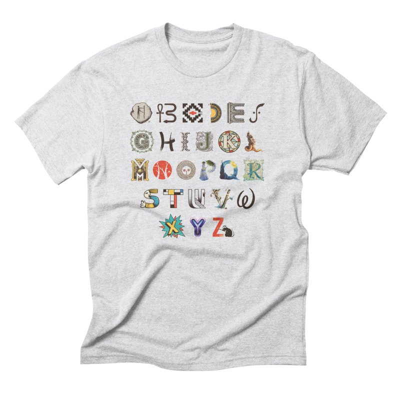 A-Z Art History Men's Triblend T-Shirt by Made With Awesome