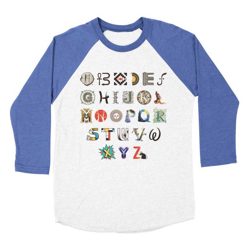 A-Z Art History Women's Baseball Triblend Longsleeve T-Shirt by Made With Awesome