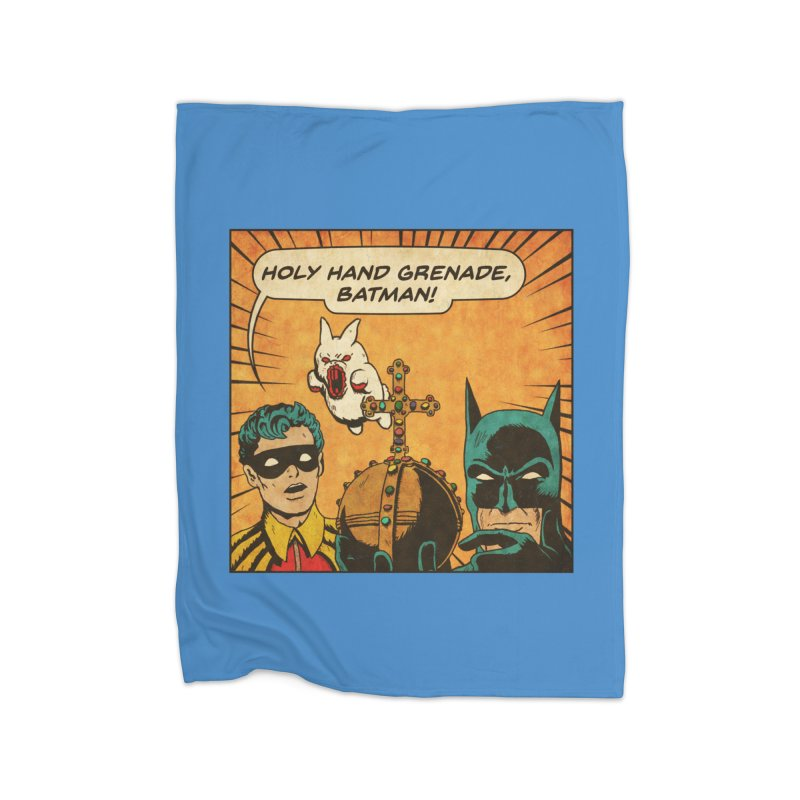 Gotham Grenade Home Blanket by Made With Awesome