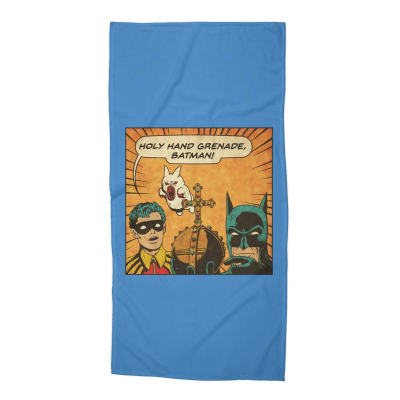 Gotham Grenade Accessories Beach Towel by Made With Awesome