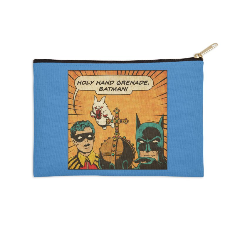 Gotham Grenade Accessories Zip Pouch by Made With Awesome