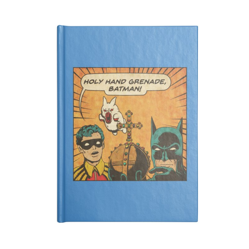 Gotham Grenade Accessories Notebook by Made With Awesome